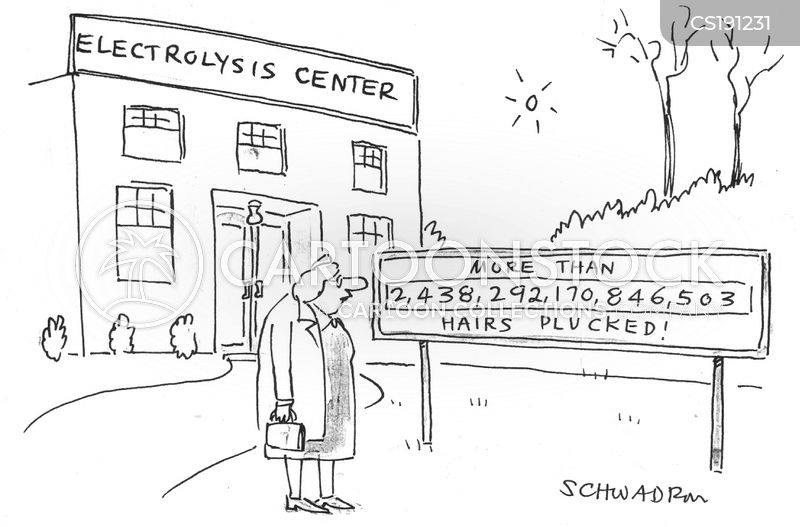 beauty treatments cartoon