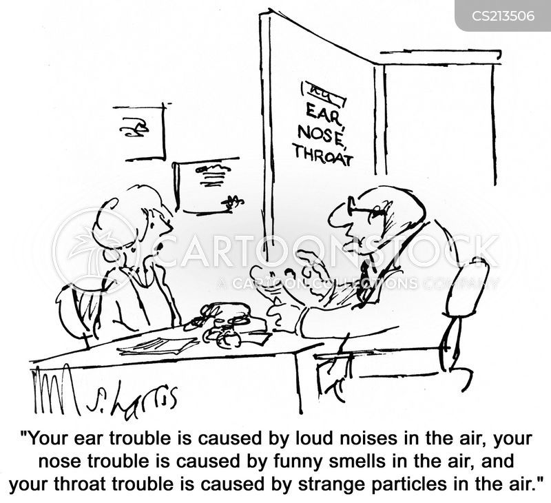 ear infections cartoon
