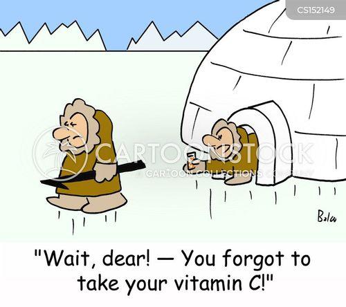 ice hunts cartoon