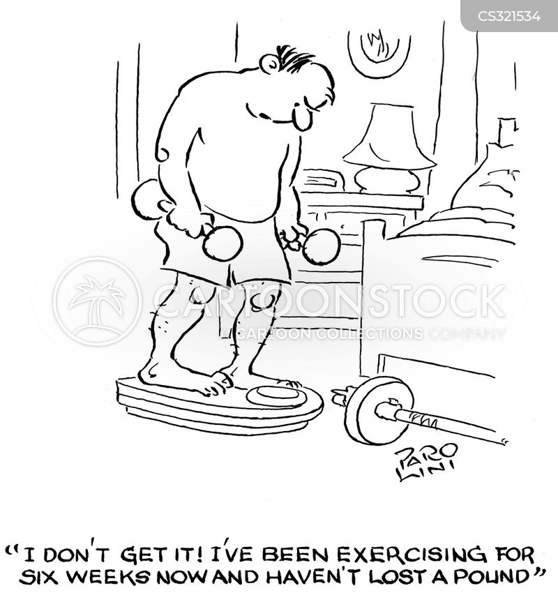 weighing scale cartoon
