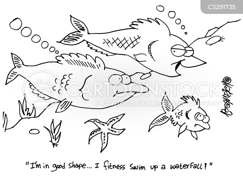 exerciser cartoon