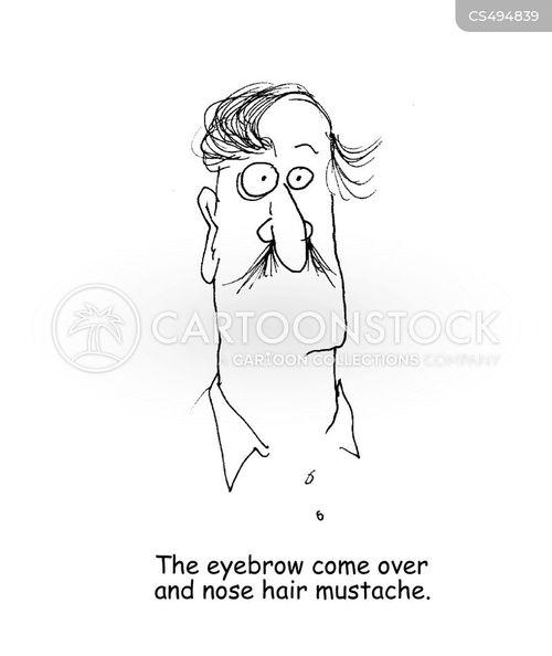 eye-brows cartoon