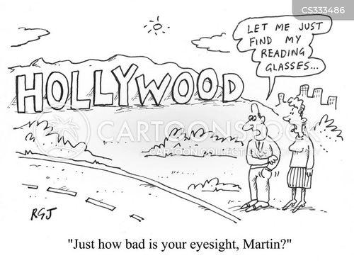 Hollywood Sign Cartoon 1 Of