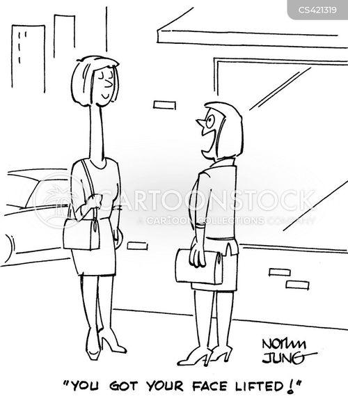 face-lifts cartoon