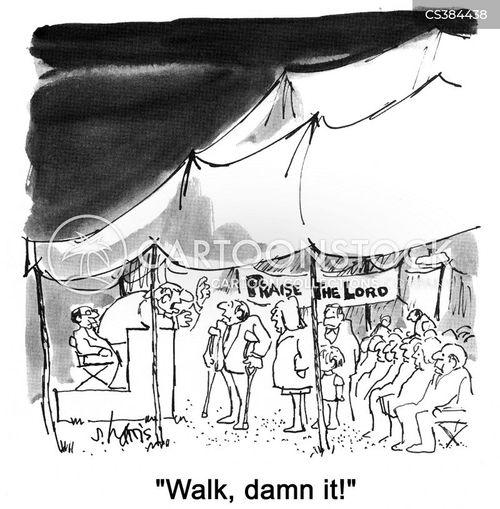 cripple cartoon