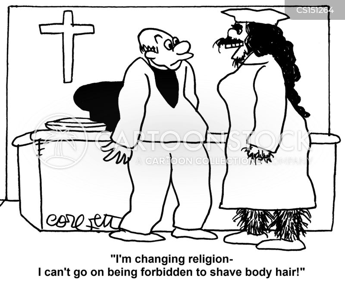 body hairs cartoon