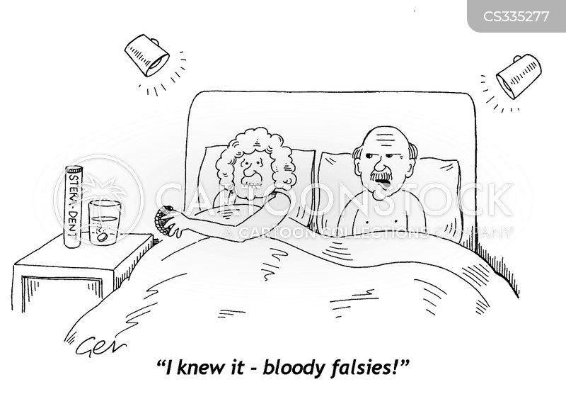 false impression cartoon