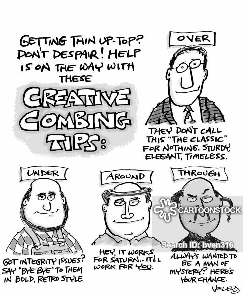 combs cartoon