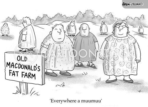 fatphobia cartoon