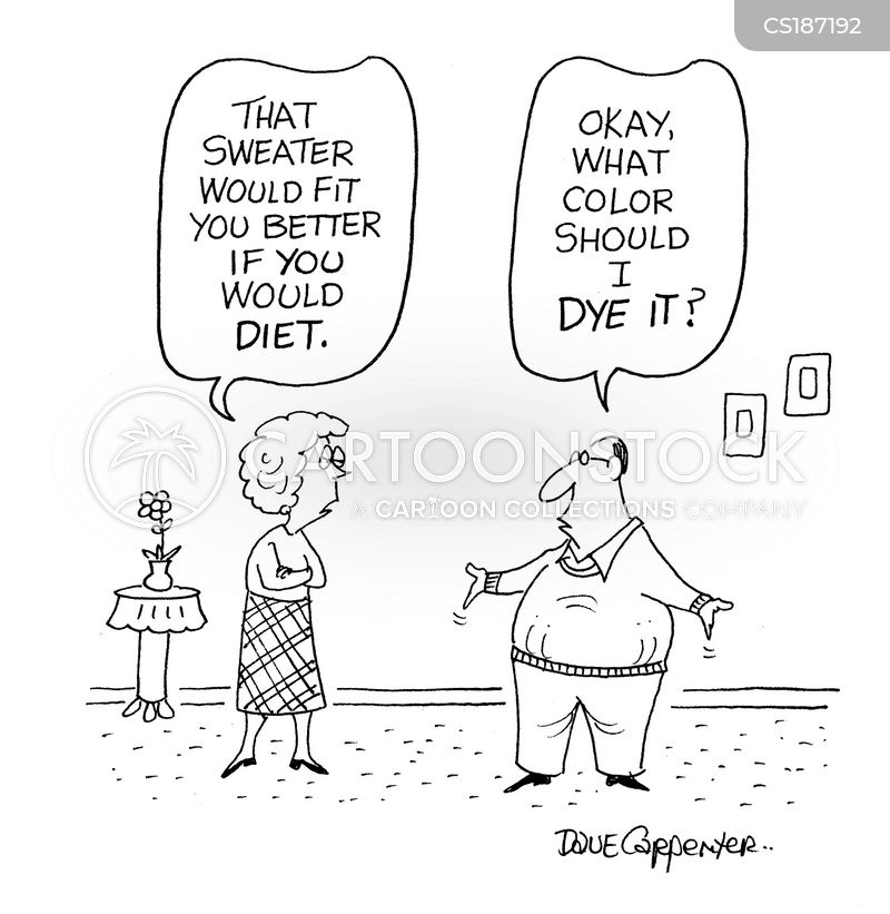 waistlines cartoon