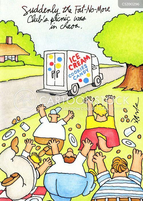 ice-cream van cartoon