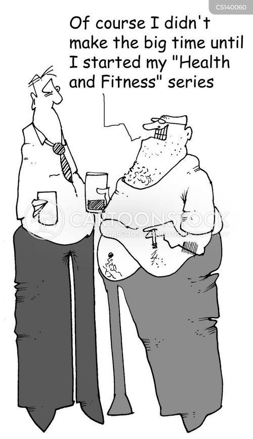 health regime cartoon