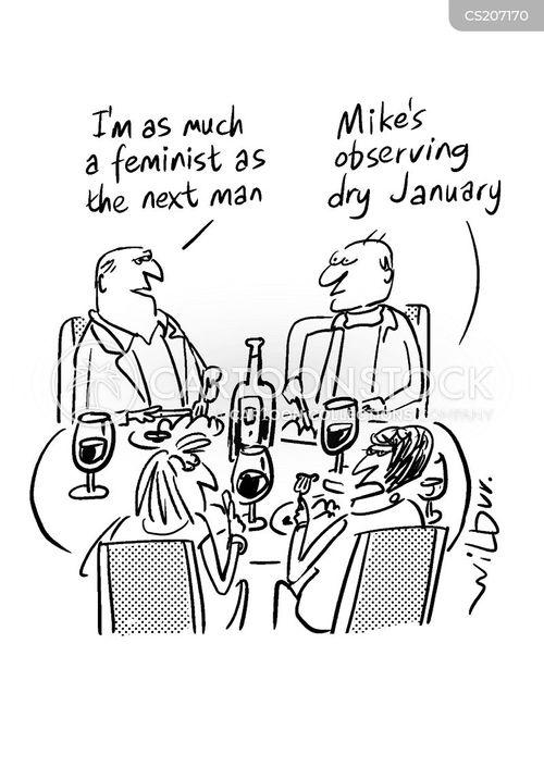 dry wit cartoon