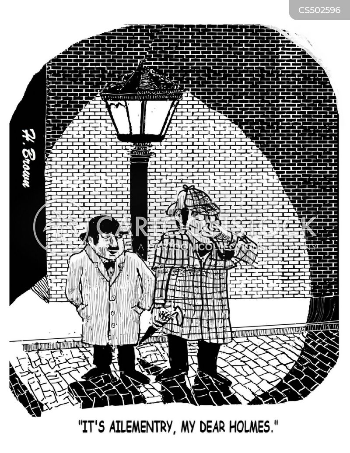 john watson cartoon