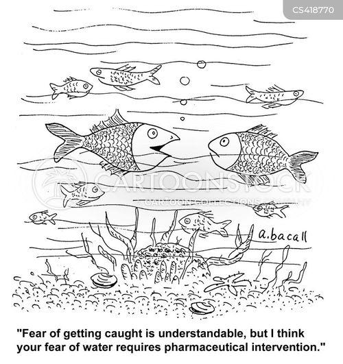 irrational fear cartoon