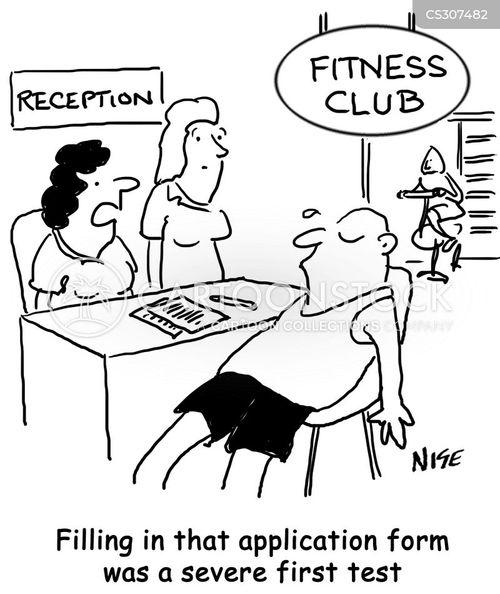 fit club cartoon