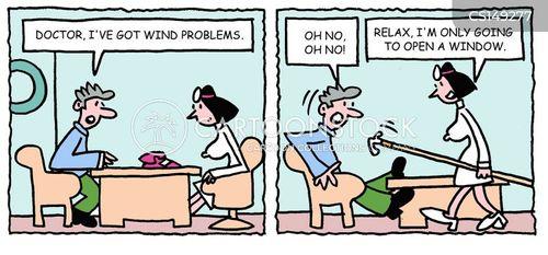 flatulent cartoon