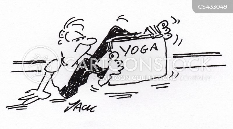 Yoga Instructions Cartoons And Comics Funny Pictures From Cartoonstock