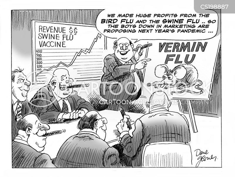 bird flu cartoon