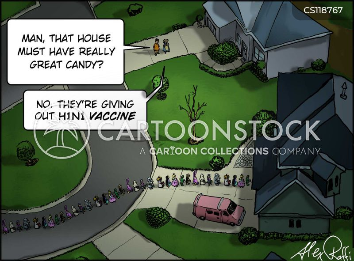h1n1 cartoon