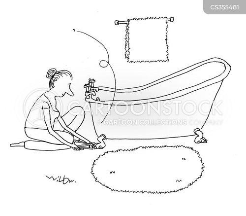nail clippers cartoon