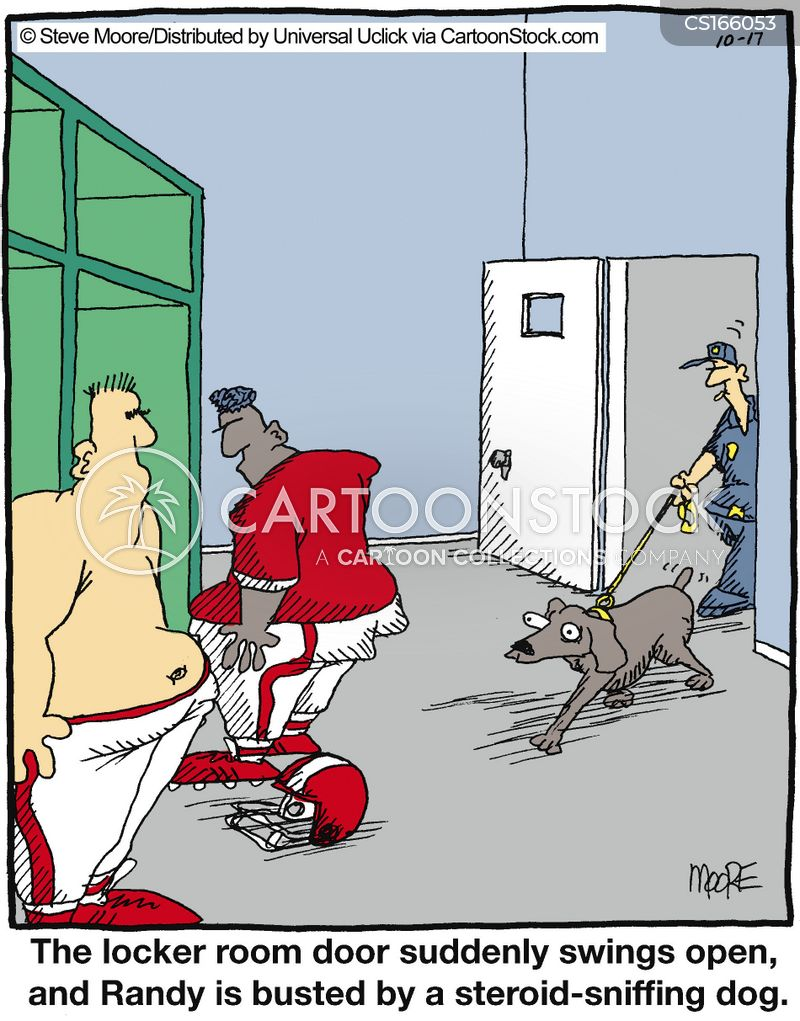 steroid cartoon
