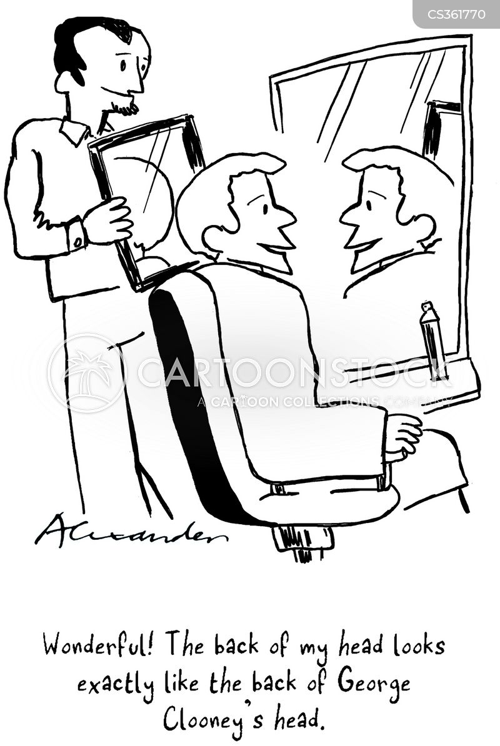 george clooney cartoon