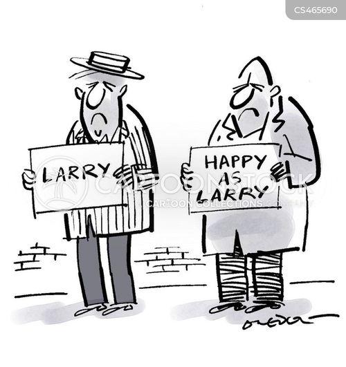 glum cartoon