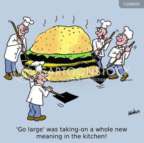 go large cartoon