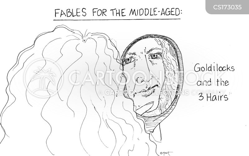 facial hairs cartoon