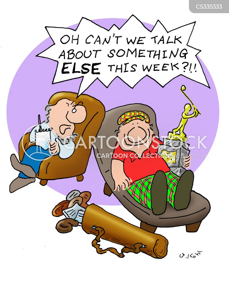 Golf Trophies Cartoons And Comics Funny Pictures From Cartoonstock