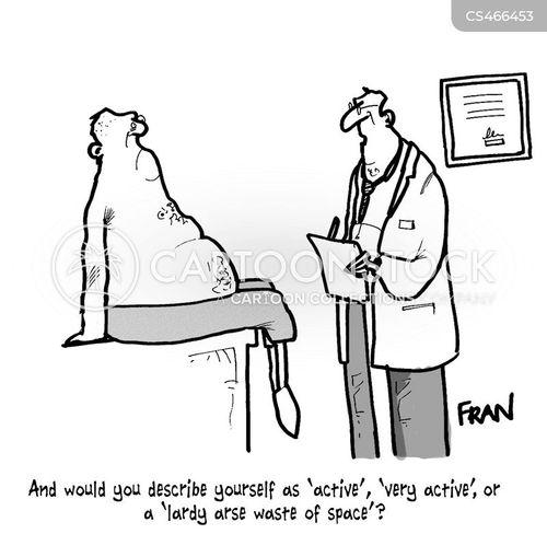 obesity epidermic cartoon