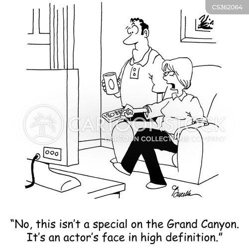 hd tv cartoon