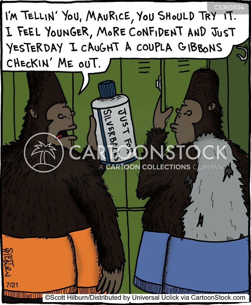 anti-aging cream cartoon