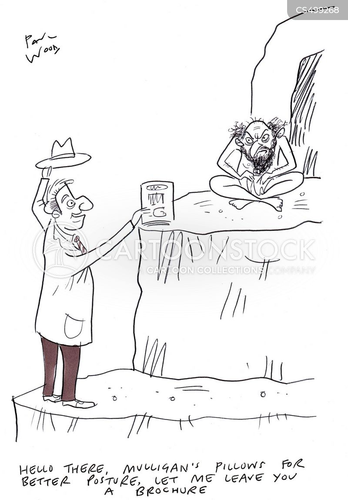 traveling salesman cartoon