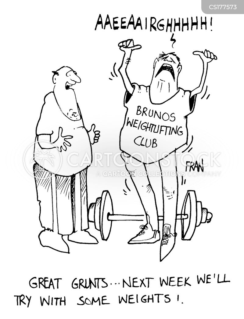 bodybuilders cartoon
