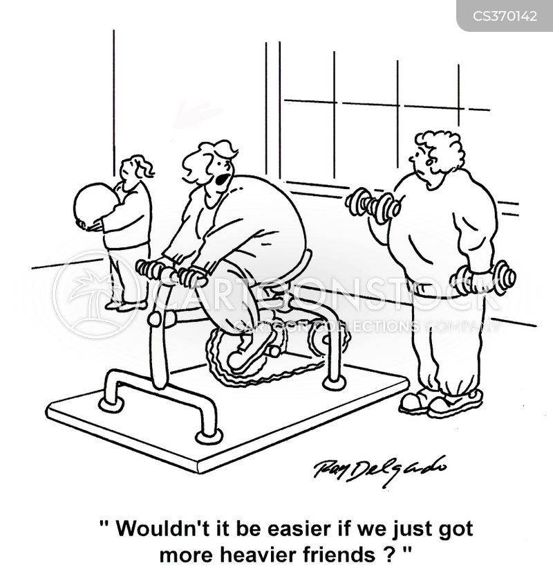 weight losses cartoon