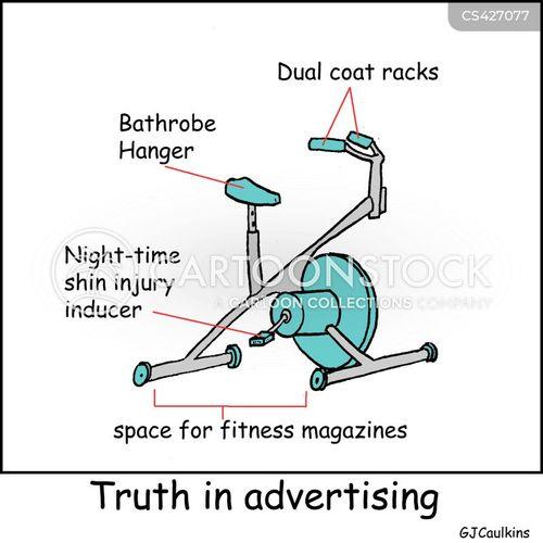 misleading advertisement cartoon