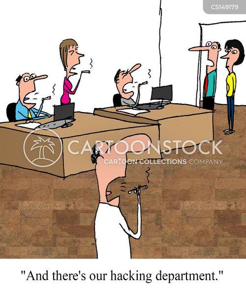 computer departments cartoon