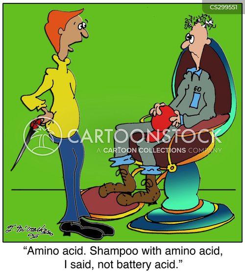 amino acid cartoon