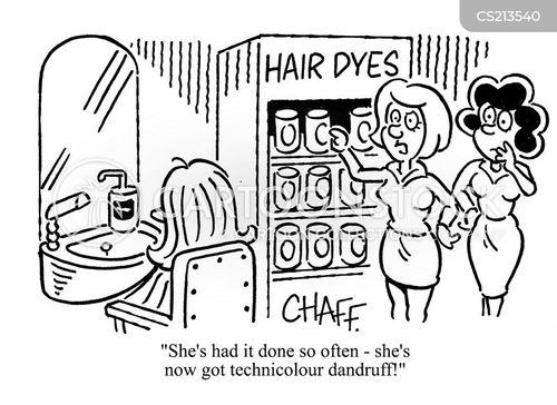 dyes cartoon