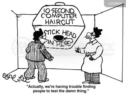 test subject cartoon