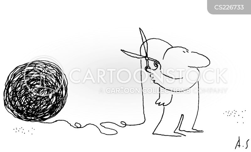 ball of yarn cartoon
