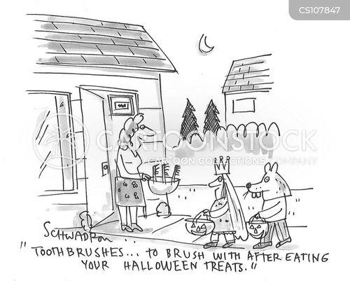 toothbrushes cartoon