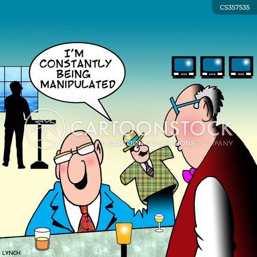 hand-puppet cartoon