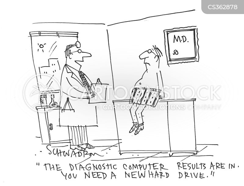 hard-drive cartoon