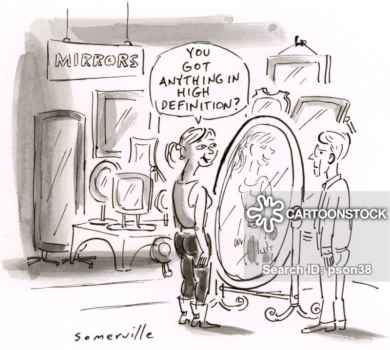 looking in mirror different reflection drawing. looking glass cartoon 4 of 7 in mirror different reflection drawing