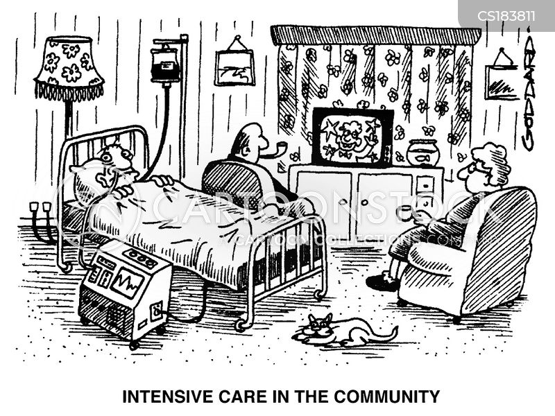 care in the community cartoon
