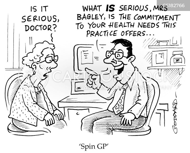 doctoring cartoon