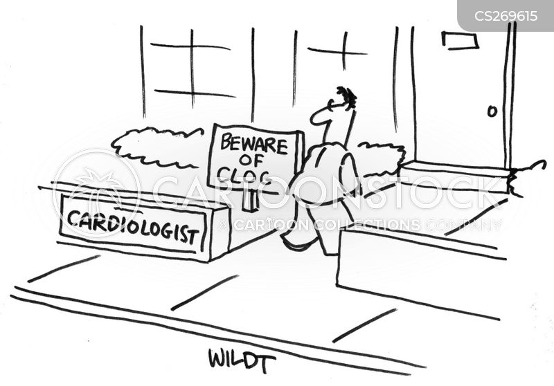 clogs cartoon